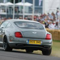Bentley Continental Supersports driving debut