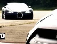 Bugatti Veyron vs Nissan GT-R video