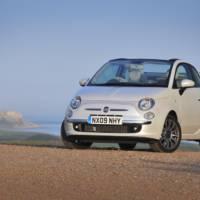 Fiat 500C convertible in UK