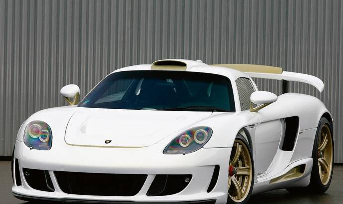 Gemballa Mirage GT GOLD EDITION Porsche