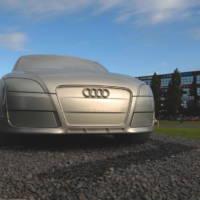 Giant Audi TT landmark