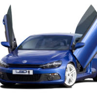 LSD Volkswagen Scirocco gull-wing doors