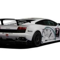 Lamborghini Gallardo Super Trofeo racing in Belgium