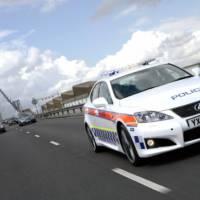 Lexus IS-F Police Car