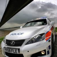 Lexus IS-F Police Car