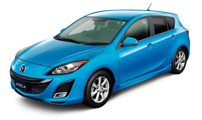 Mazda Axela Hatchback Prize