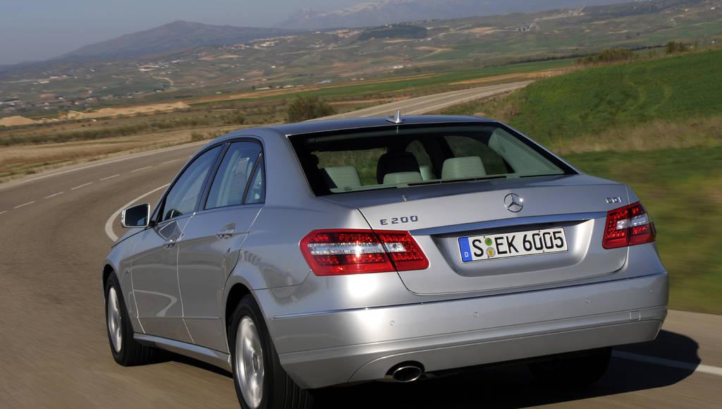 Mercedes E 200 CDI BlueEFFICIENCY