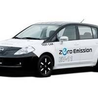 Nissan Tiida All Electric Car