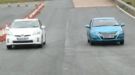 Toyota Prius vs Honda Insight video