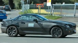 Video : 2012 Mercedes SLK Spied
