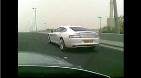 2010 Aston Martin Rapide spied in Kuwait