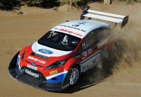 Ford Fiesta RallyCross racing at Pikes Peak 2009 video