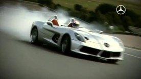 Mercedes SLR Stirling Moss on track video