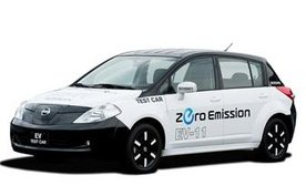 Nissan Tiida All Electric Car