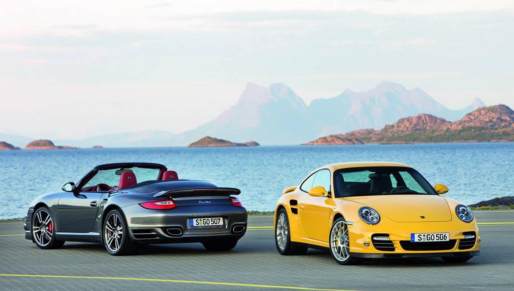 2010 Porsche 911 Turbo facelift unveiled