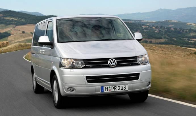2010 Volkswagen Carravelle and California campervan