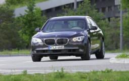 BMW 7 Series High Security vehicle
