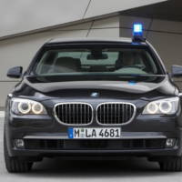 BMW 7 Series High Security vehicle