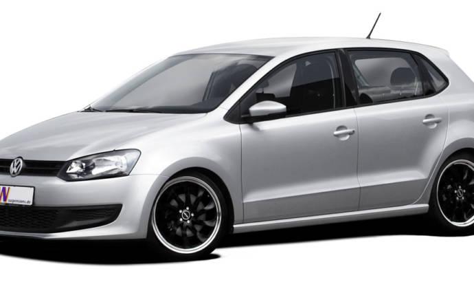 KW Volkswagen Polo V coilover suspension