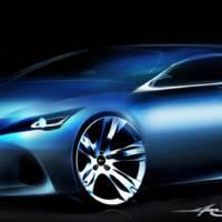 Lexus Premium Compact Concept Teaser