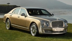 Video : First Bentley Mulsanne sold for 500.000 dollars