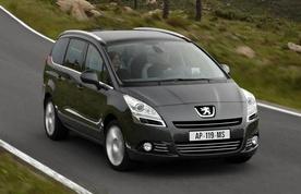 2010 Peugeot 5008 Price