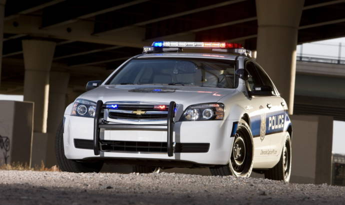 2011 Chevy Caprice Police Car