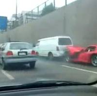 Dodge Viper Crash Video