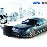 Ford Taurus Fusion and Transit Connect at 2009 SEMA Show
