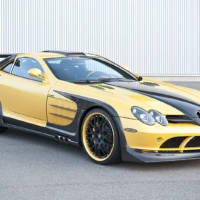 Hamann Mercedes SLR Volcano Yellow Edition