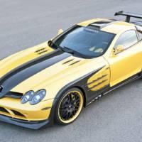 Hamann Mercedes SLR Volcano Yellow Edition