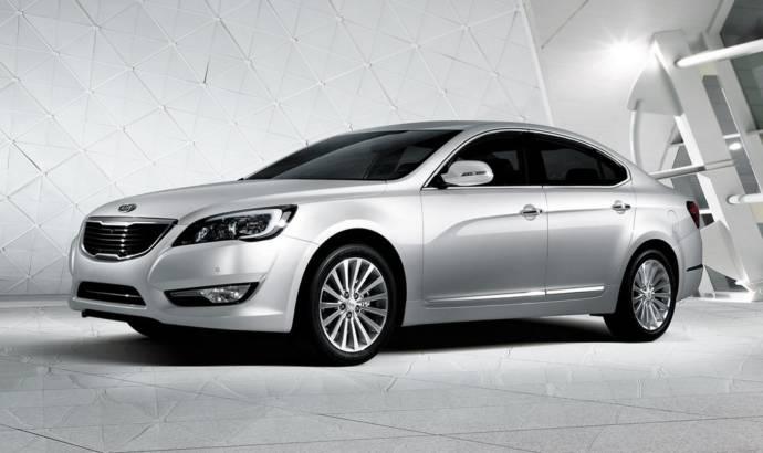 Kia Cadenza unveiled