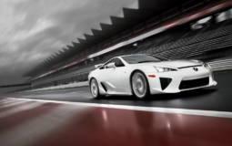 Lexus LF-A official photos and details