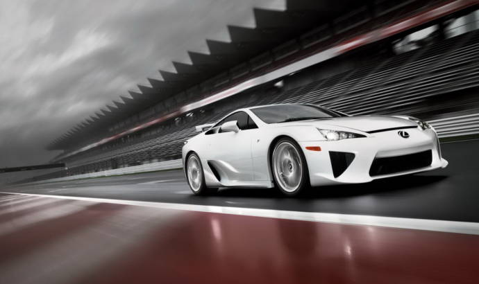 Lexus LF-A official photos and details
