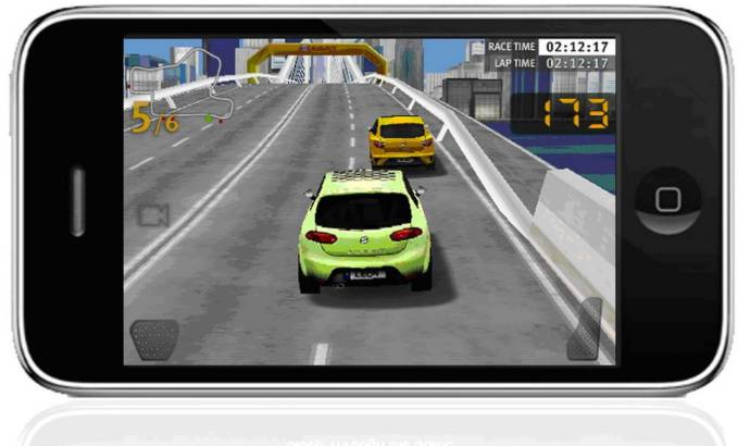 Seat Cupra Race game for iPhone