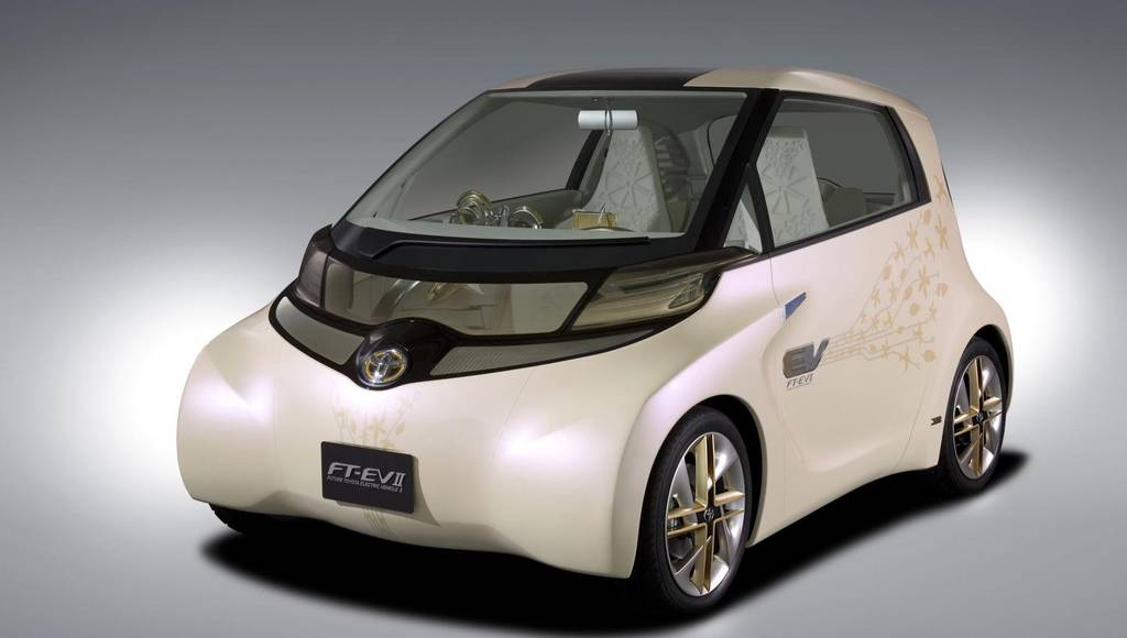 Toyota FT-EV II electric vehicle concept