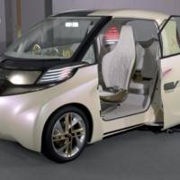 Toyota FT-EV II electric vehicle concept