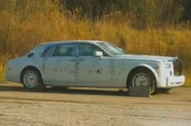 Video: Rolls Royce Phantom Ballistic Test