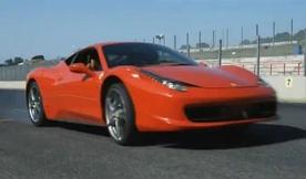 Video: Ferrari 458 Italia on Track