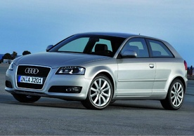 Audi A3 new body shop