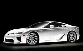 Lexus LF-A review video