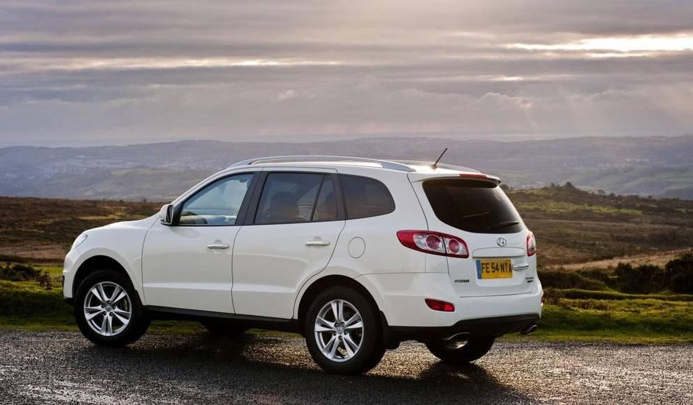 2010 Hyundai Santa Fe price for UK