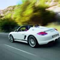 2011 Porsche Boxster Spyder photos and details