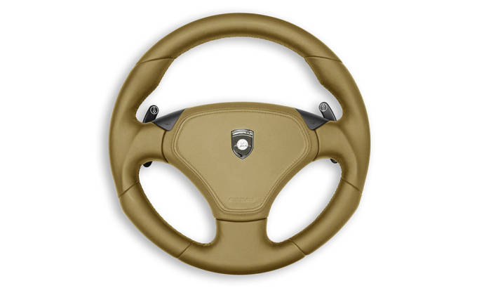 Gemballa Porsche Cayenne Steering Wheel