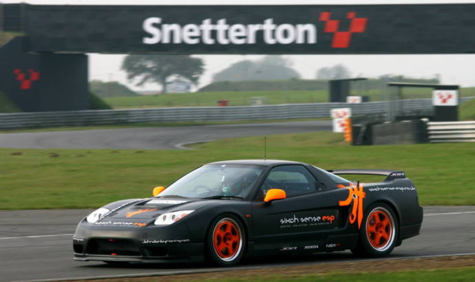 Honda NSX production race car