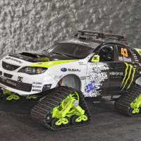Ken Block's Subaru WRX STI TRAX Snow-Ready Performance Car - SEMA 09
