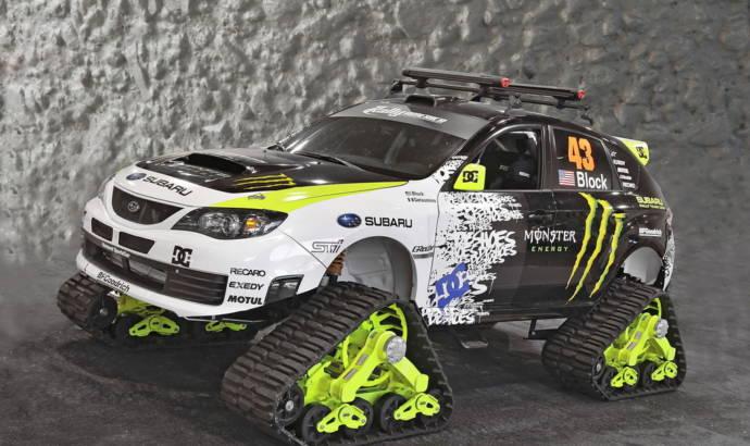 Ken Block's Subaru WRX STI TRAX Snow-Ready Performance Car - SEMA 09