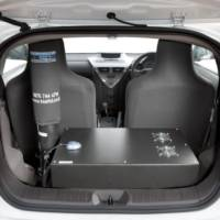 Toyota iQ traffic-surveillance car