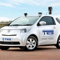 Toyota iQ traffic-surveillance car