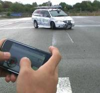Video: iPhone controlled minivan